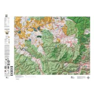 HuntData Colorado Unit Map with Land Ownership
