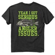 Men's Buck Wear Serious Angler Issue T-Shirt