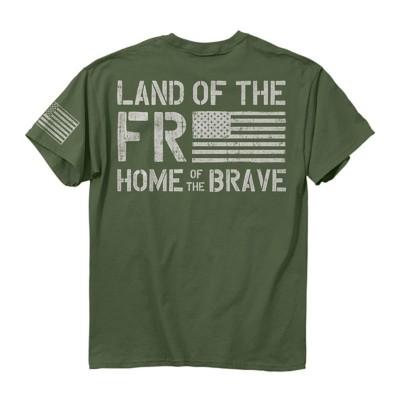Men's Buck Wear Freedom Flag T-Shirt