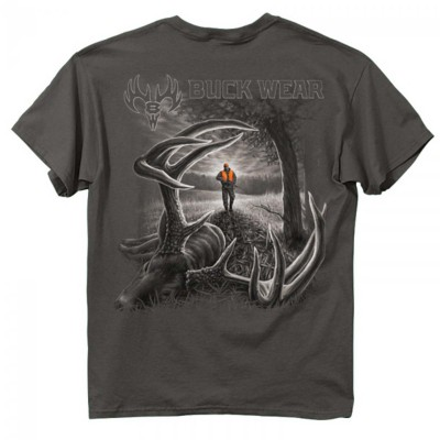 Men's Buck Wear Whitetail Down T-Shirt' data-lgimg='{