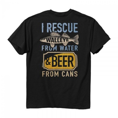 Men's Buck Wear Rescue Walleye T-Shirt
