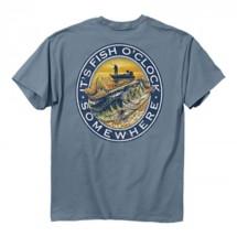 Men's Buck Wear Fish O'Clock T-Shirt
