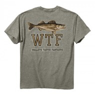 Men's Buck Wear Walleye Taste T-Shirt