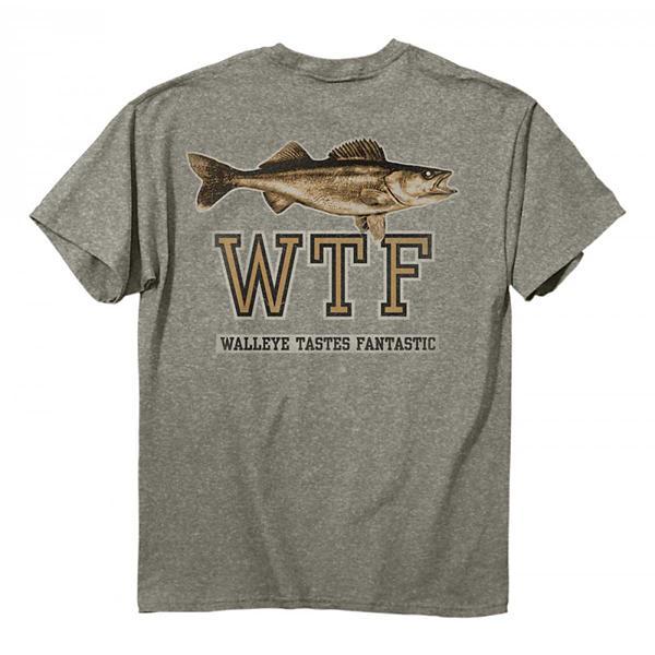 Men S Buck Wear Walleye Taste T Shirt Scheels Com