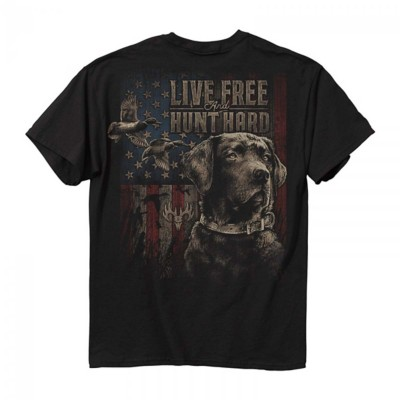 Men's Buck Wear Live Free Duck Hunt T-Shirt