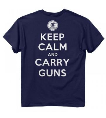 Men's Buck Wear NRA Keep Calm T-Shirt