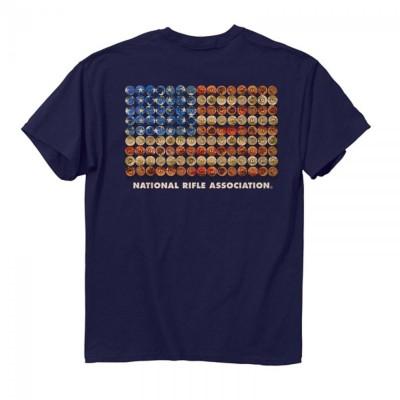Men's Buck Wear Shotgun Flag T-Shirt