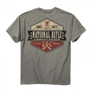Men's Buck Wear NRA Retro T-Shirt