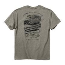 Men's Buck Wear NRA Snake Banner T-Shirt