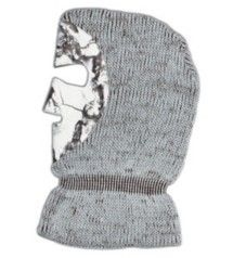 Adult Natural Gear Knit Facemask