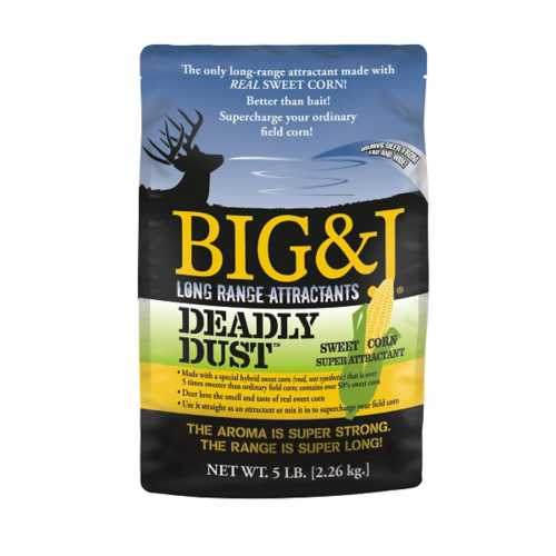 Big & J Deadly Dust Attractant 5 Lb. Bag