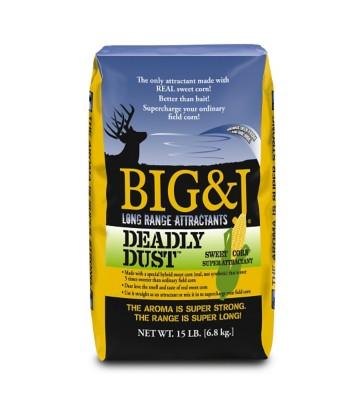 Big & J Deadly Dust Attractant 15 Lb. Bag