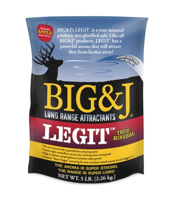 Big & J LEGIT Mineral Attractant