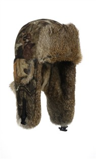 Mad Bomber Saddlecloth Mossy Oak Hat