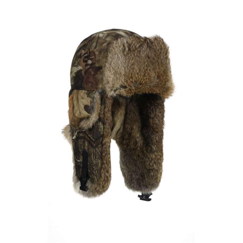 Mad Bomber Saddlecloth Mossy Oak Hat