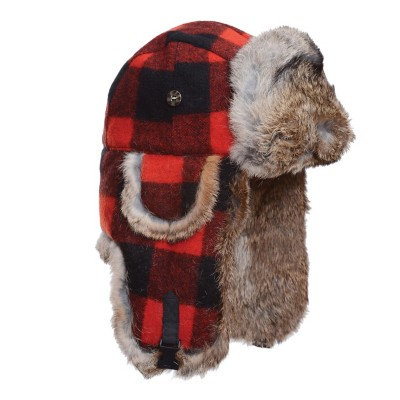 Mad Bomber Wool Faux Fur Hat
