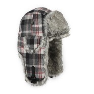 Mad Bomber Faux Fur Wool Hat