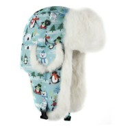 Grade School Mad Bomber Penguin Hat