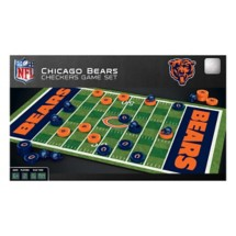Masterpieces Puzzle Co. Chicago Bears Checkers Game
