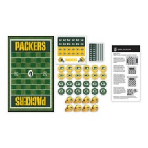 Masterpieces Puzzle Co. Green Bay Packers Checkers Game