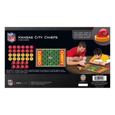 Masterpieces Puzzle Co. Kansas City Chiefs Checkers Game
