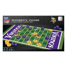 Masterpieces Puzzle Co. Minnesota Vikings Checkers Game