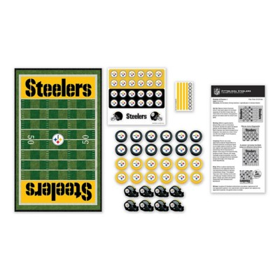 Masterpieces Puzzle Co. Pittsburgh Steelers Checkers Game