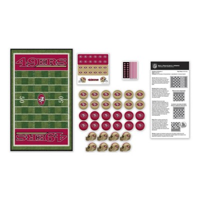 Masterpieces Puzzle Co. San Francisco 49ers Checkers Game