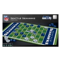Masterpieces Puzzle Co. Seattle Seahawks Checkers Game