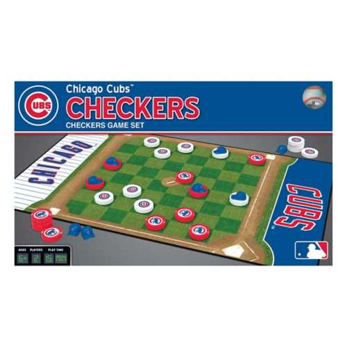 Masterpieces Puzzle Co. Chicago Cubs Checkers