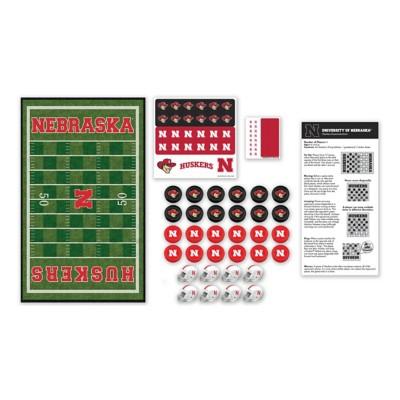 Masterpieces Puzzle Co. Nebraska Cornhuskers Checkers Game