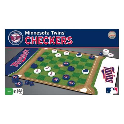 Masterpieces Puzzle Co. Minnesota Twins Checkers