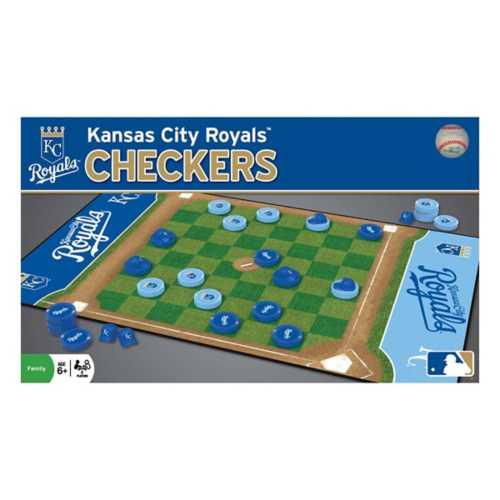 Masterpieces Puzzle Co. Kansas City Royals Checkers