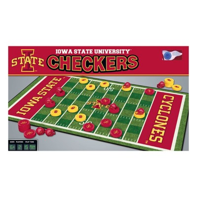 Masterpieces Puzzle Co. Iowa State Cyclones Checkers Game