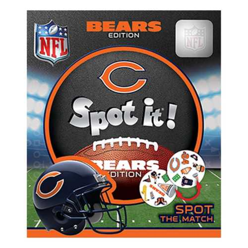 Masterpieces Puzzle Co. Chicago Bears Spot It Game