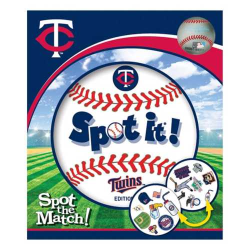 Masterpieces Puzzle Co. Minnesota Twins Spot It Game