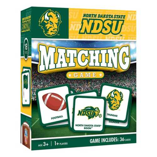 Masterpieces Puzzle Co. North Dakota State Bison Matching Game