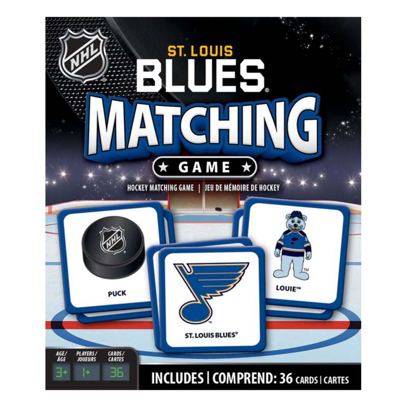 Masterpieces Puzzle Co. St. Louis Blues Matching Game
