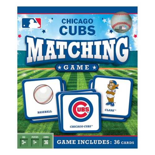 Masterpieces Puzzle Co. Chicago Cubs Matching Game