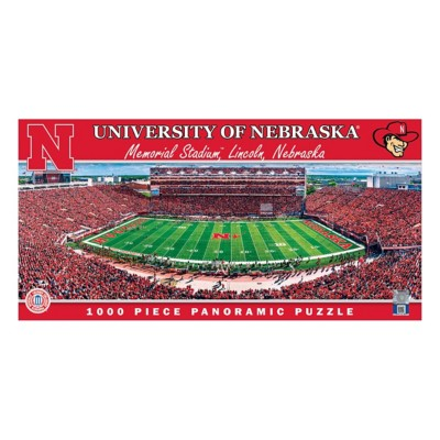 Masterpieces Puzzle Co. Nebraska Cornhuskers Panoramic 1000 Piece Stadium Puzzle