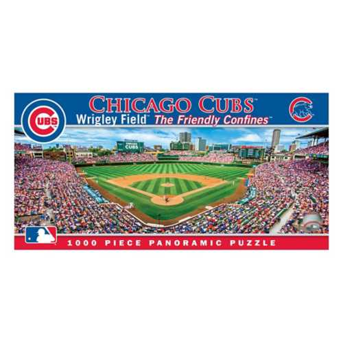 Masterpieces Puzzle Co. Chicago Cubs 1000pc Panoramic Puzzle