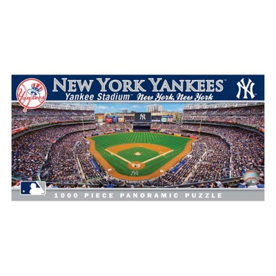 Masterpieces Puzzle Co. New York Yankees Panoramic 1000 Piece Stadium Puzzle