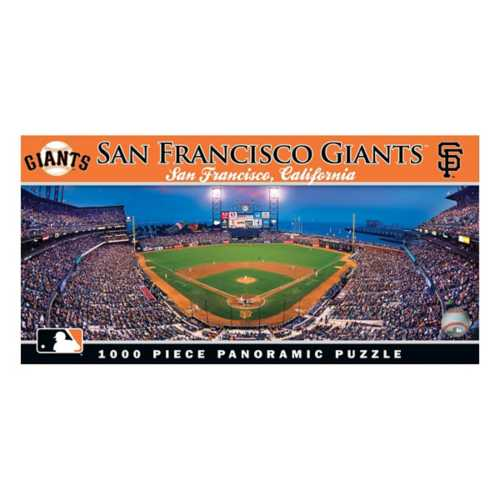 Masterpieces Puzzle Co. San Francisco Giants 1000pc Panoramic Puzzle