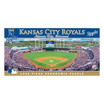 Masterpieces Puzzle Co. Kansas City Royals Panoramic 1000 Piece Stadium Puzzle
