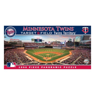 Masterpieces Puzzle Co. Minnesota Twins Panoramic 1000 Piece Stadium Puzzle