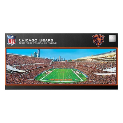 Masterpieces Puzzle Co. Chicago Bears Panoramic 1000 Piece Stadium Puzzle