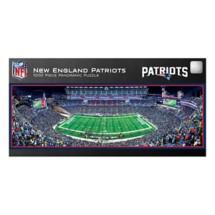 Masterpieces Puzzle Co. New England Patriots Panoramic 1000 Piece Stadium Puzzle