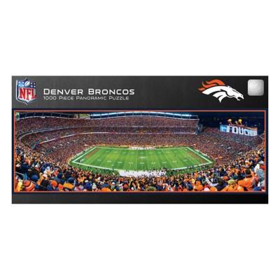 Masterpieces Puzzle Co. Denver Broncos Panoramic 1000 Piece Stadium Puzzle