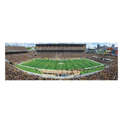 Masterpieces Puzzle Co. Pittsburgh Steelers Panoramic 1000 Piece Stadium Puzzle