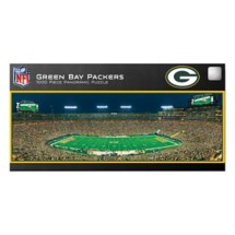 Masterpieces Puzzle Co. Green Bay Packers Panoramic 1000 Piece Stadium Puzzle